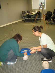 "CPR level ""A"" and AED courses in Victoria"