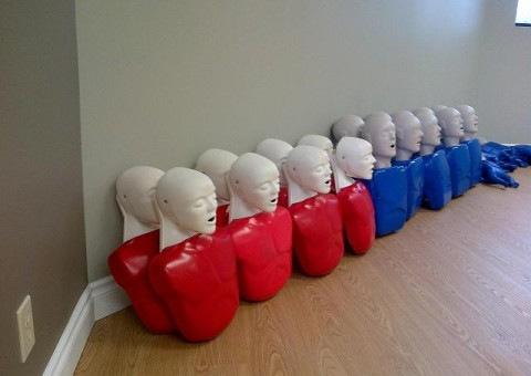 CPR Training Equipment