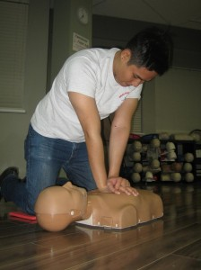 CPR training is included in every first aid course in Victoria